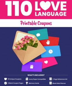 110 Love Language Printable Coupons